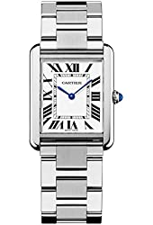 Cartier Men's Tank Solo Watch - Silver