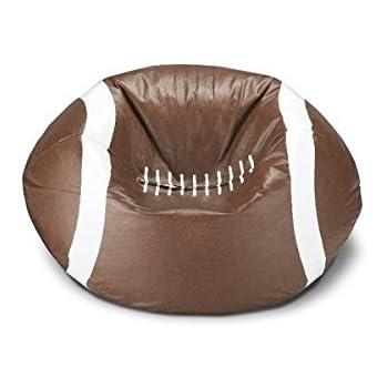 Ace Casual 96-inch Vinyl Sports Bean Bag Chair (Football) (1)