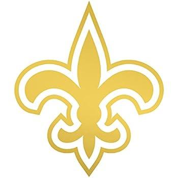 Amazon.com: Fleur De Lis Shaped Sticker (new orleans saints decal ...