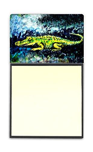 Alligator Desk Treasures (Caroline's Treasures Sneaky Alligator Sticky Note Holder, Multicolor (MW1233SN))