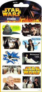 Star Wars Classic Stickers - Packet 2