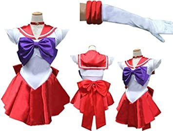Amazon.com: Disfraz de Sailor Moon (Sailor Mars) XL Mars ...