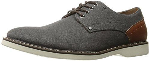 Madden Men's M-drudge Oxford, Grey Fabric, 9.5 M (Casual Oxford Shoe)