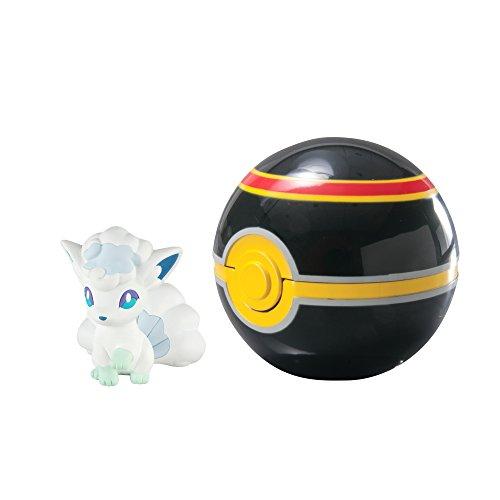 Pokémon Clip And Carry Poké Ball, Alolan Vulpix And Luxury - Uk Luxury Brands