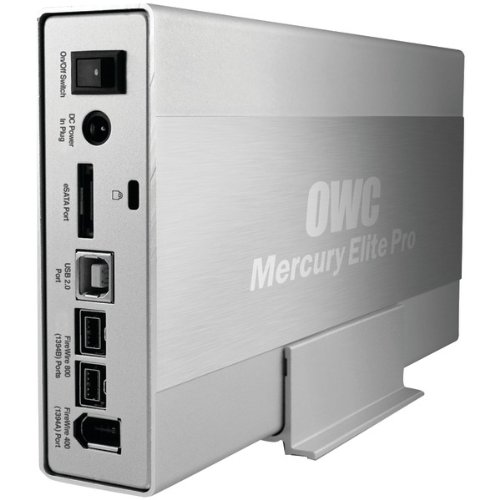 OWC Other World Computing - OWCME3QHKIT0GB Mercury Elite Pro 0gb Enclosure Kit Mac/Pc / USB 3.1 Gen 1 / Firewire 800 by OWC