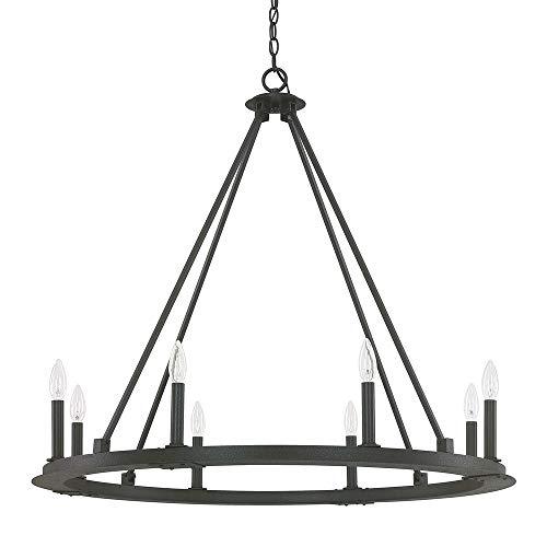 Light Chandelier Capital Lighting - Capital Lighting 4918BI-000 Eight Light Chandelier