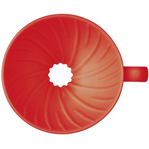 Hario Coffee Dripper V60 Size 02 Red Ceramic (japan import)