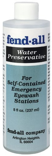 SPERIAN EMERGENCY EYEWASH-32-001100-0000-8 OZ FENDALL WATER PRESERVATIVE