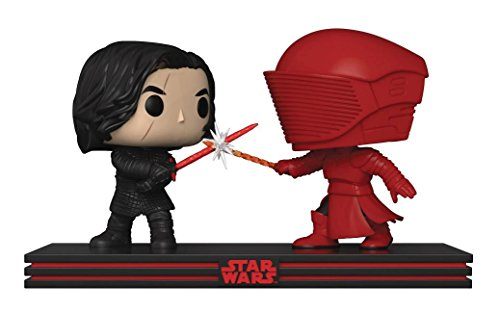 Set 2 Figuras Funko Pop! Star Wars The Last Jedi Kylo REN & Guardia Pretor