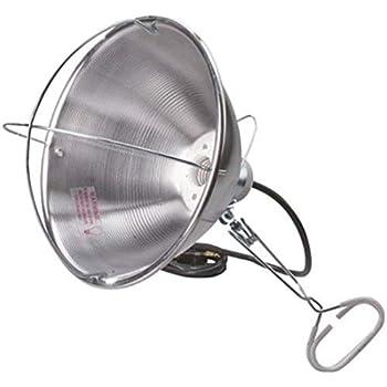 Amazon Com Clamp Grip Brooder Heat Lamp 250 Watt Ace Lighting 30715 Silver 082901307150 Home