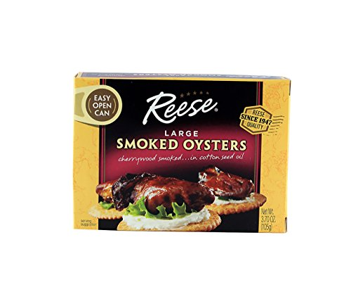 Reese Colossal Smoked Oysters 3 7 Ounce product image