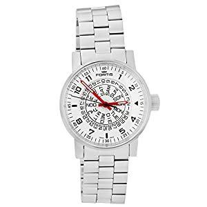 Fortis Mens Watch Spacematic Classic White-Red Automatic 623.10.52 M