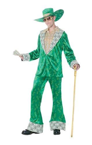 Big Money Pimp Adult - Standard - Pimp And Ho Costumes For Halloween