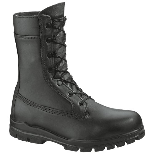 Bates Boots: Women's 9 Inch Steel Toe US Navy Military Boot 1788 -9.5EW by Bates