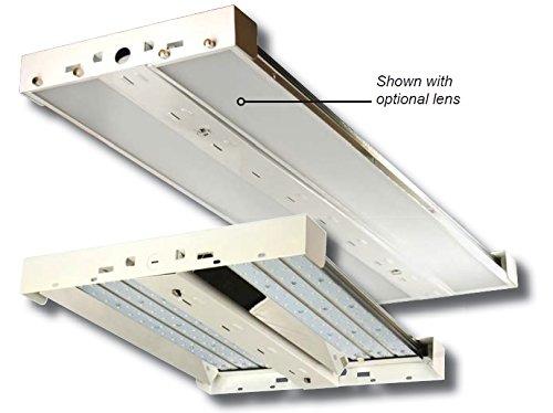 LED High Bay Lighting Fixture - 165 Watt - 22,020 Lumen - DLC Listed - 5 Year Warranty - Platinum Peak Warehouse Lighting