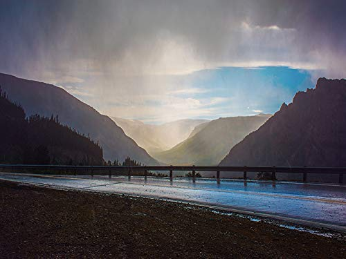 (Mountain Rain - Landscape Photograph Picture Home Decor Wall Outdoor Nature Photo Print - Variety of Size Available)