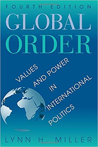 Amazon com: Global Order: Values And Power In International