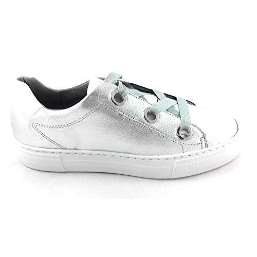 Jenny Chaussures de Ville à Lacets pour Femme Argenté Silver
