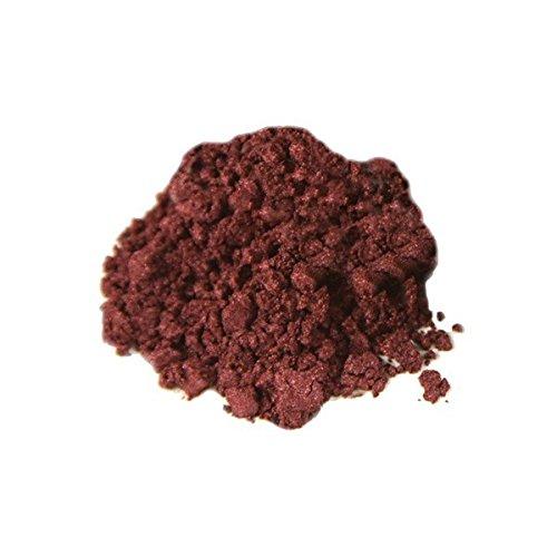 Bella Terra - Mineral Shimmer - All Colors - Natural - Original - Cruelty-Free - Eye Glitter - Eye Highlighter (Burgundy) by Bella Terra Cosmetics