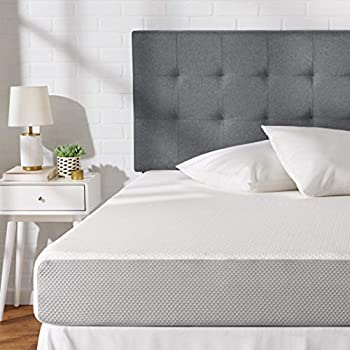 AmazonBasics Memory Foam Mattress - 8-Inch, Twin Size - Soft Bed, Plush Feel, CertiPUR-US Certified, Breathable, Easy Set-Up