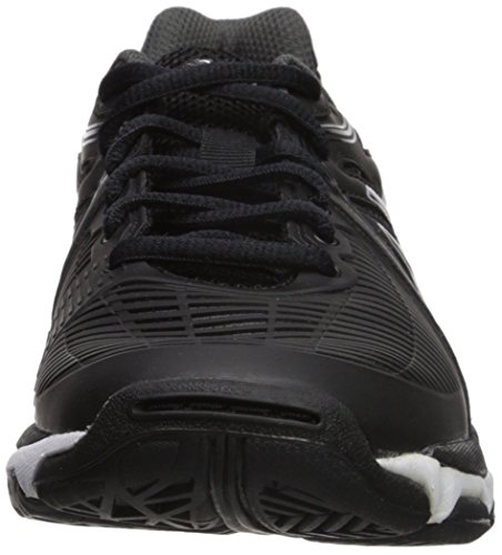 ASICS Women's Gel-Netburner Ballistic Volleyball Shoe, Black/Dark Grey/White, 9 Medium US by ASICS (Image #4)