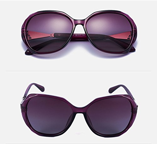 polarisées QQB Lunettes lunettes soleil conduite X333 soleil Lady des A lunettes de cadre lunettes pilote soleil C Couleur grand de de Fashion qwwrXE
