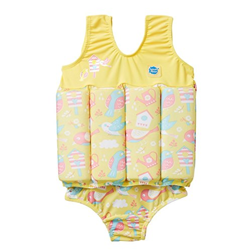 Splash About Float Suit Adjustable Buoyancy, Garden Birds, 1-2 Years