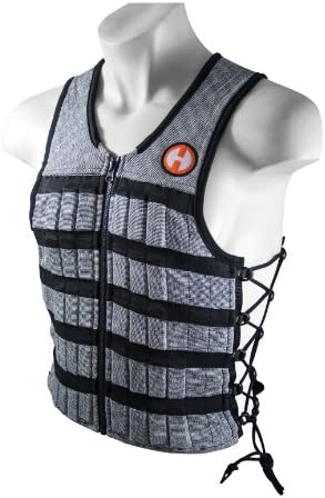 Hyperwear Hyper Vest PRO Unisex 10-Pound Adjustable Weighted Vest for Fitness Workouts