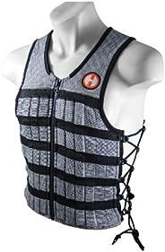 Hyperwear Hyper Vest PRO Weighted Vest Men and Weight Vest Women, Performance Stretch Wicking Fabric, Thin Adj