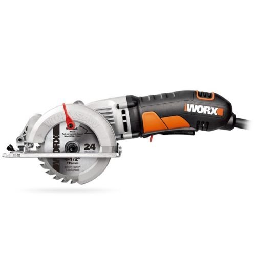 """Portable Power Saw 4-1/2"""" Compact Circular Corded Amp Electric New Blade Tool"""