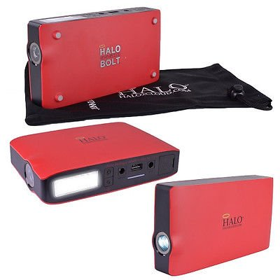 12V 55500mWh Portable Emergency Charger/Multifunctional Jump Starter : Red