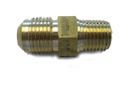 - Fuel or Gas Line Brass Fitting, Connector Coupling (3/8