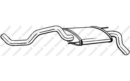 Bosal 233-325 - Silenziatore Posteriore