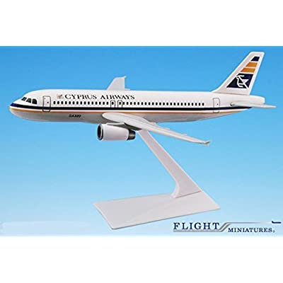 Cyprus Airways A320-200 Airplane Miniature Model Plastic Snap-Fit 1:200 Part# AAB-32020H-026: Toys & Games