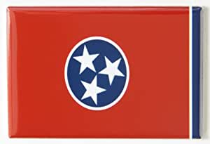 Tennessee State Flag Fridge Magnet (2 x 3 inches)