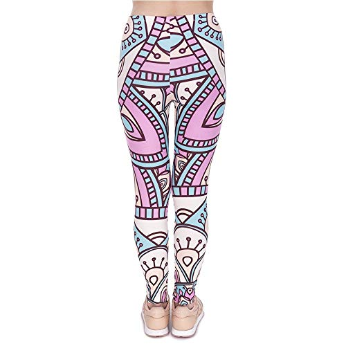 Rosa A Legins Alta Nuove Donna Yoga Vita Di Legging Classiche Mandala Donne Lga44545 E Leggings Design Ragazzi Pantaloni Stampa Da POWqaq4
