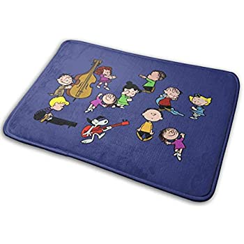 Amazon Com Snoopy And Charlie Brown Peanuts Doormat And