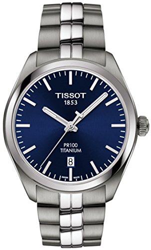 Tissot T101.410.44.041.00 Men's Watch PR 100 Silver 39mm Titanium