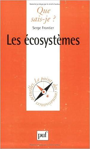 Livre gratuits en ligne Les Écosystèmes pdf, epub