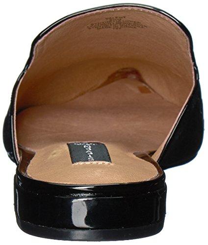 STEVEN von Steve Madden Damen Valent Slip-On Loafer Schwarzes Patent
