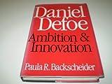 Daniel Defoe 9780813115962