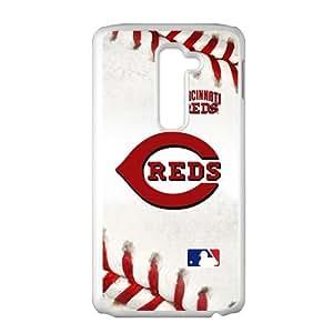 baseball reds Phone Case for LG G2