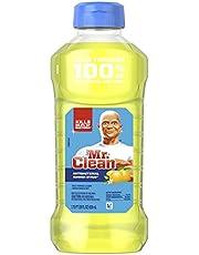 Mr Clean All Purpose Cleaner Liquid, Disinfectant Bathroom & Floor Cleaner, Summer Citrus, 828 ml