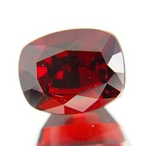 Unheated Untreated Red Montana Garnet (AIGS) 6.01 carat