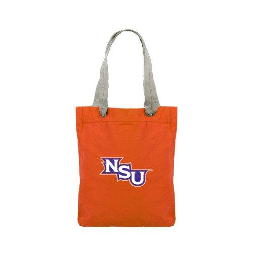 Northwestern State Allie Orange Canvas Tote 'NSU' by CollegeFanGear
