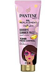Pantene Pro-V Goodbye Summer Frizz Leave-in Oil Replacement with 72H Frizz Control, 275 ml