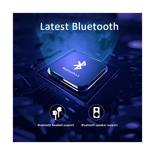 Full Touch Screen MP3 Player, 3.5 Inch 8GB Memory Bluetooth 5.0 FM Radio Ebook MP4 Video E-Book Release Function Playback Support Extension 128GB,Gold 5