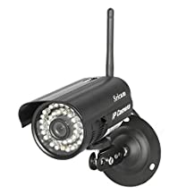 Bufccy HD 720P Outdoor Wireless IP Security Surveillance Camera System,Night Vision,Motion Detection,P2P Mode