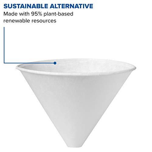 Solo 6SRX-2050 6 oz White Paper Cone Cups (Case of 2500) by Solo Foodservice (Image #3)