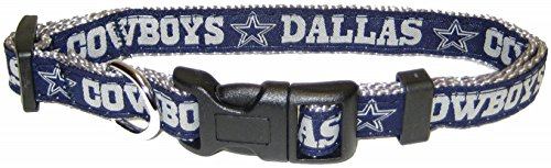 Pets First NFL Dallas Cowboys Pet Collar, ()